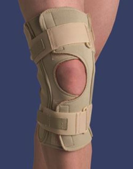 Picture of Thermoskin® Hinged Knee Brace Single Pivot, Beige, 2XL