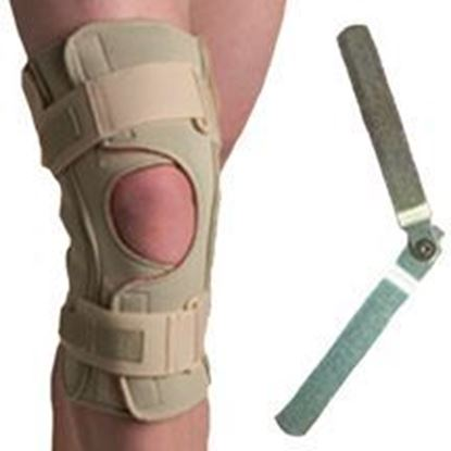 Picture of Thermoskin® Hinged Knee Brace Single Pivot, Beige, 3XL