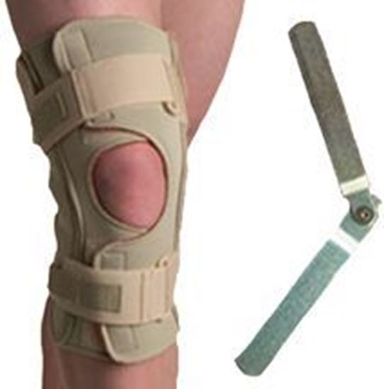 Picture of Thermoskin® Hinged Knee Brace Single Pivot, Beige, 4XL