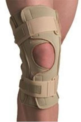 Picture of Thermoskin® Hinged Knee Wrap Dual Pivot, Beige, 5X-Large