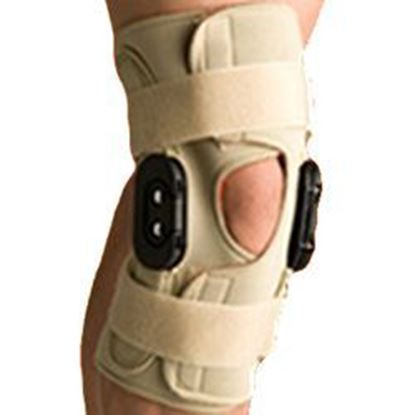 Picture of Thermoskin® Hinged Knee Wrap Flexion / Extension, Beige, 5XL