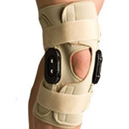 Picture of Thermoskin® Hinged Knee Wrap Flexion / Extension, Beige, M