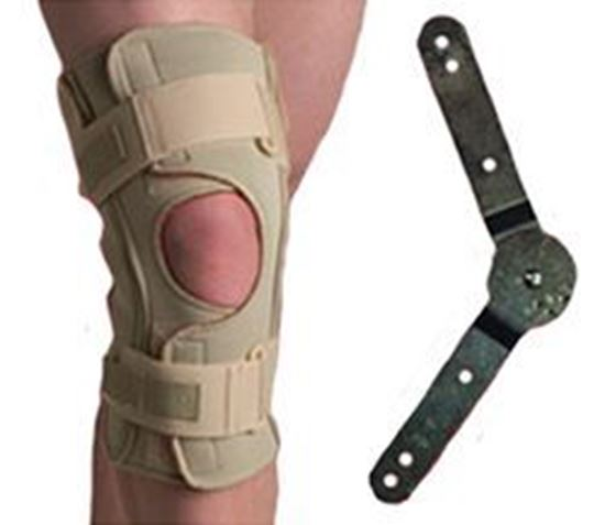 Picture of Thermoskin® Hinged Knee Wrap ROM (Range of Motion), Beige, 5XL
