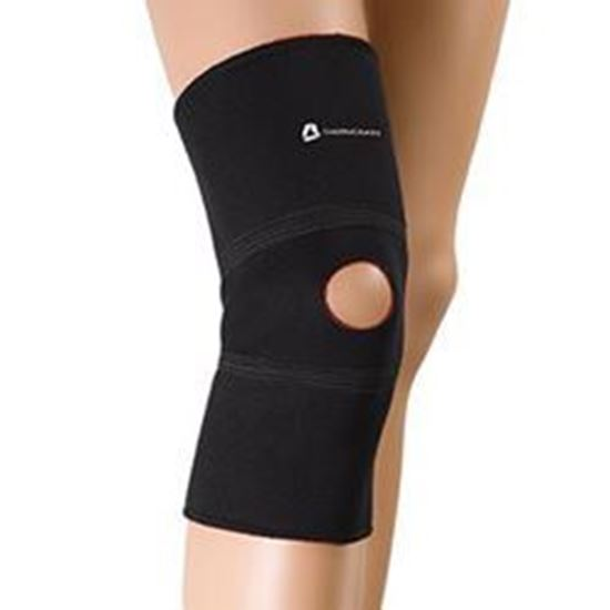 Picture of Thermoskin® Knee Patella, Black, 3XL