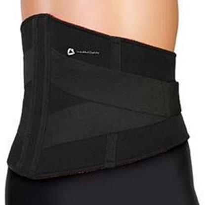 Picture of Thermoskin® Lumbar Support, Black, 2XL