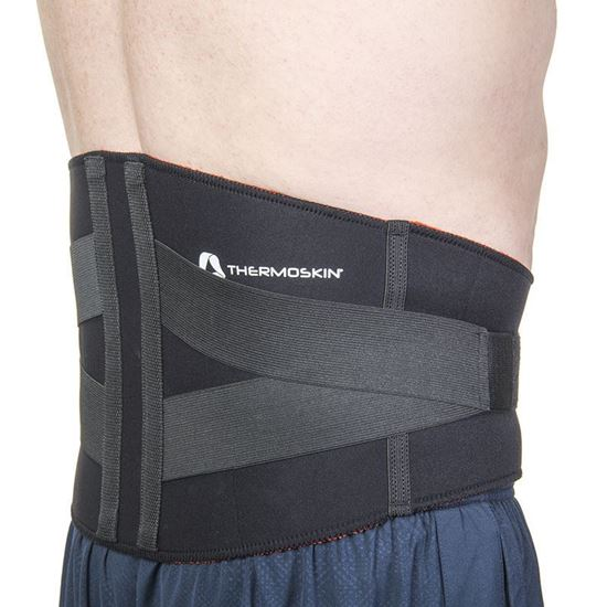Picture of Thermoskin® Lumbar Support, Black, L