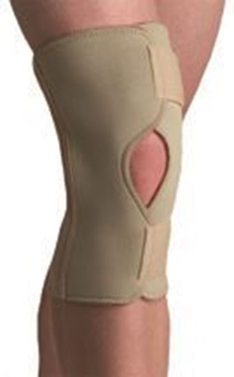 Picture of Thermoskin® Open Knee Wrap Stabilizer, Beige, S
