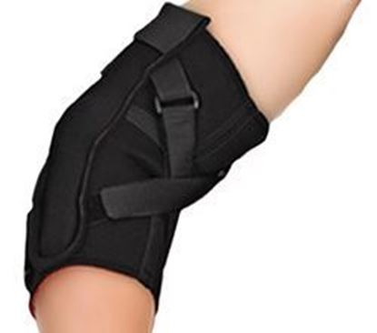 Picture of Thermoskin® Range of Motion (ROM) Hinged Elbow, Black, M