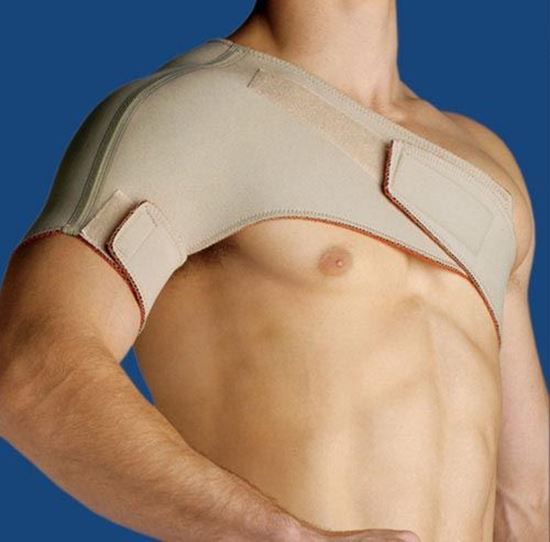 Picture of Thermoskin® Sports Shoulder, Beige, S