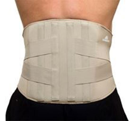 Picture of Thermoskin® T9 Rigid Lumbar Support, 4XL, Beige