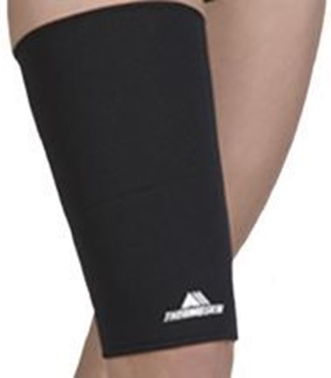 Picture of Thermoskin® Thigh Hamstring, Black, L