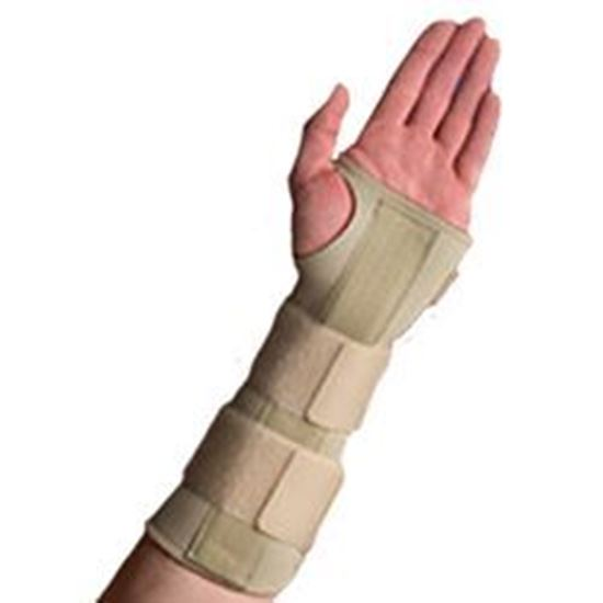 Picture of Thermoskin® Right Wrist Forearm Splint, Beige, Large