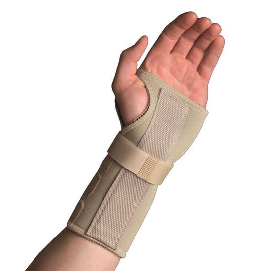 Picture of Thermoskin® Wrist Hand Brace, Beige, M, Right