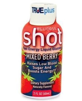 Picture of TRUEplus® Glucose Shot, Mixed Berry (8 pack)