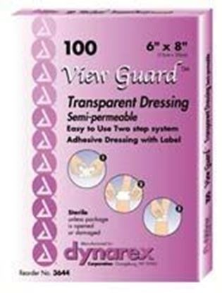 """Picture of View Guard® Transparent Dressings, 6"""" x 8"""", Sterile"""