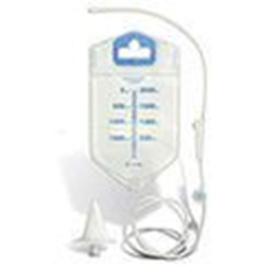 Picture of Visi-Flow® Irrigation Pouch with Stoma Cone, 1 Kit/Box