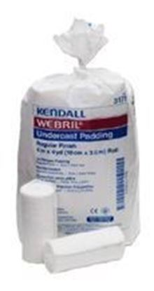"Picture of Webril™ 100% Cotton Undercast Padding, Regular Finish, 4"" x 12'"