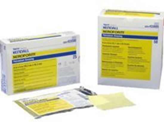 "Picture of Xeroform™ Petrolatum Gauze, 1"" x 8"", Strip in Overwrap Peelable Foil Packs"