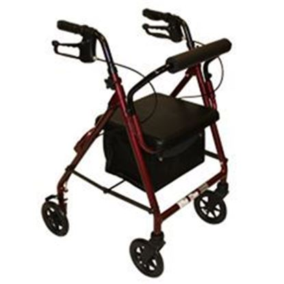 Picture of ProBasics Junior Burgundy Rollator with 6-inch Wheels