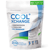 Picture of CoolXChange 2in1 Compression & Cooling Gel Bandage, Regular, Blue