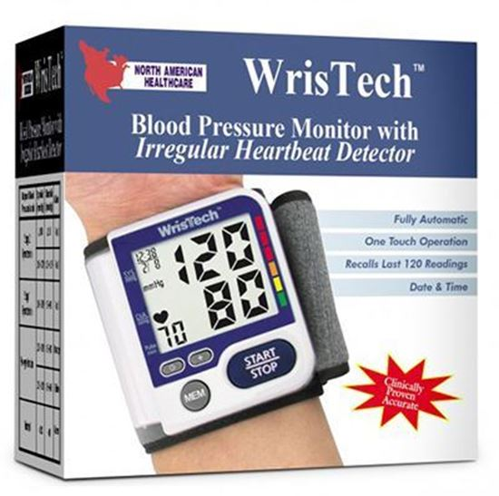 Picture of Wrist Blood Pressure Monitor w/Irregular Heartbeat