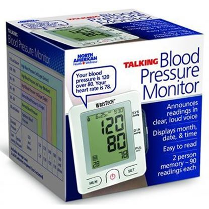 Picture of WrisTech™ Digital Wrist Talking Blood Pressure Monitor