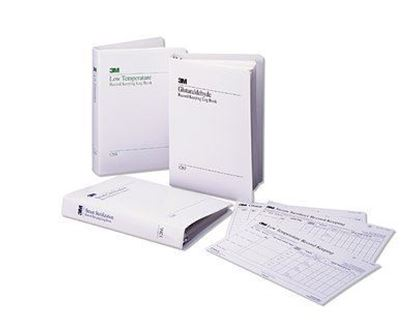 Picture of 3M™ Attest™ 1266-A Steam Sterilizer Record Log Book