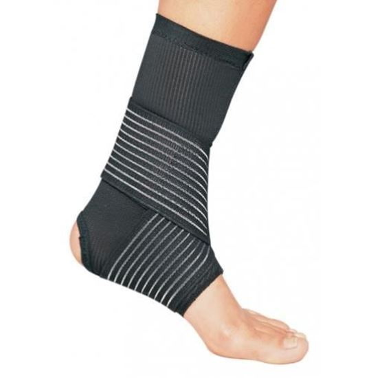 Picture of ProCare® Double Strap Ankle Support, Black, Large, Universal