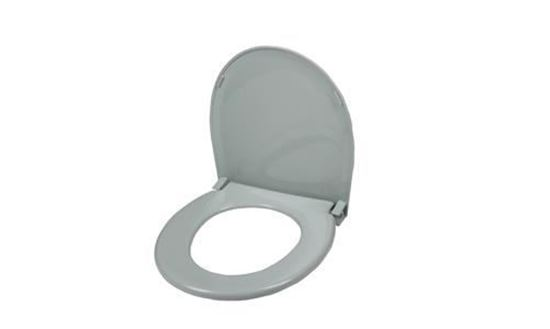 Picture of Toilet seat with lid, elongated