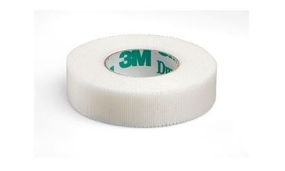 "Picture of 3M™ Durapore™Silk-Like Coth Surgical Tape ½"" x10 yd"