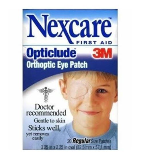 "Picture of Nexcare™ Opticlude™ Orthoptic Eye Patch 3.25"" x 2.25"""