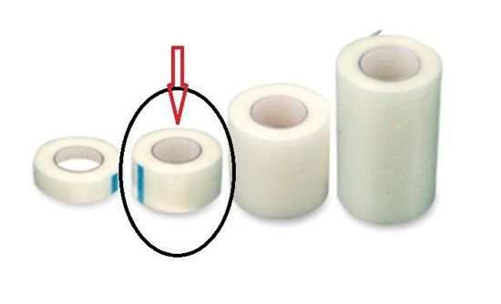 """Picture of Dynarex Transparent Surgical Tape, 1"""" x 10 yards"""