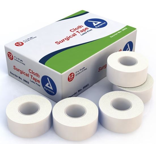 """Picture of Dynarex® Cloth Surgical Tape, 1"""" x 10 yards"""
