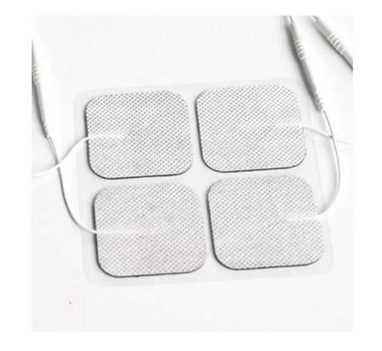 "Picture of White Cloth InTENSity Electrodes (2"" x2"")"