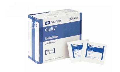 Picture of Curity™ 2-Ply Alcohol Prep Pad 200 Count Box