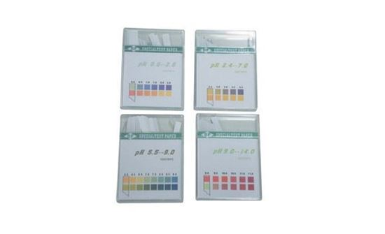 Picture of pH Indicator Test Strip Kit, 4 Packs of 100 Strips