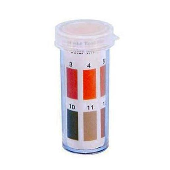 Picture of Wide Range Ph Paper, Range: 1-14, Vial of 100