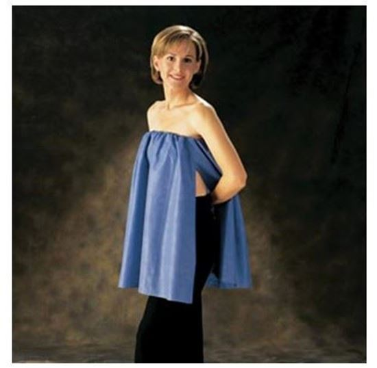 Picture of FlexFit® Nonwoven Exam CoverUp, Blue, One Size Fits Most