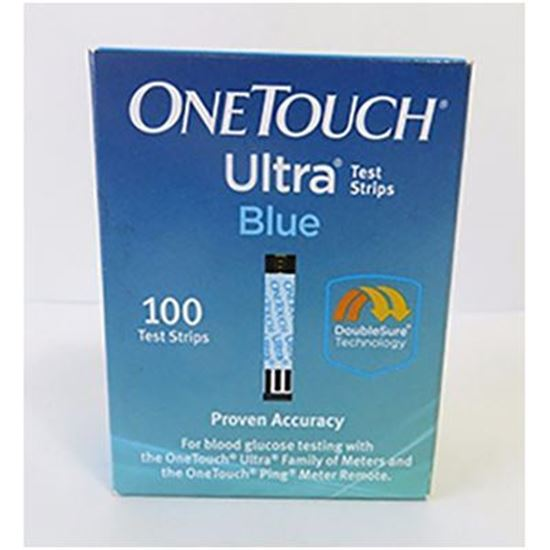 Picture of OneTouch® Ultra® Blood Glucose Test Strip, 100ct, Retail